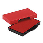 U.S. Stamp & Sign Trodat T5206 Stamp Replacement Ink Pad, 1-3/8w x 2-3/8d, Red