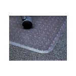 Universal Cleated Chair Mat For Low To Medium Pile Carpets
