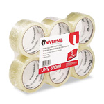Universal Clear 1.85 Mil Box Sealing Tape, 55 Yards