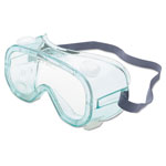 Sperian A610S Safety Goggles, Indirect Vent, Green-Tint Fog-Ban Anti-Fog Lens