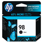 HP 98 Black Inkjet Cartridge, Model C9364WN140