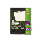 Avery File Folder Labels - File Folder Labels - 1500 Label(s)