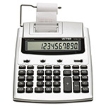 Victor 1210-3A 12-Digit Two Color Printer Desktop Calculator with Time Date Display