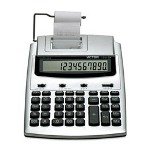 Victor 10 Digit Commercial Printing Calculator with Built-In AntiMicrobial Protection