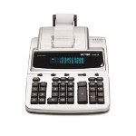 Victor 12 Digit Heavy Duty Commercial Calculator with Built-In Antimicrobial Protection