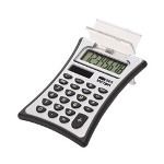 Victor 8 Digit Handheld Calculator with Flip Top Lid