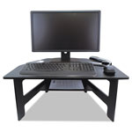 "Victor Stand-Up Desk Converter, 28"" x 23"" x 12-1/2"", Black"