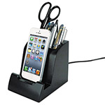 Victor Smart Charge Lightning Dock with Pencil Cup