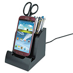 Victor Smart Charge Micro USB Dock with Pencil Cup