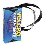"Velcro Hook & Loop Ultra Mate® Strong Hold Fastener Tape, 1""x3 ft., Black"