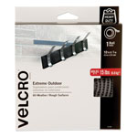 "Velcro Extreme Fasteners, 1"" x 10 ft, Titanium, 1 roll"