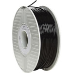 Verbatim Filament, 3D, PLA, 3mm, 2.2lb./1Kg Reel, Black