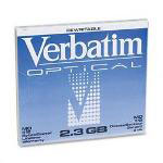 "Verbatim Magneto Optical Disk, 5.25"", 2.3GB, 512 Bytes/Sector, Rewritable"