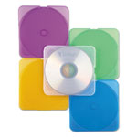 Verbatim CD/DVD TRIMpak™ Cases, 5 Assorted Translucent Colors, 10/Pack