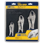 Vise Grip 3 Piece Locking Pliers Set (10CR, 7CR and 5CR)