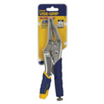 "Vise Grip 9"" Fast Release Long Nose Locking Pliers with Wire Cutter"