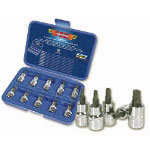 "Vim Products 10 Piece 3/8"" Drive 5 Point Security Driver Set"
