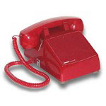 Viking RED No Dial Desk Phone