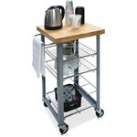 "Vertiflex Products Companion Serving Cart, 20"" x 34"" x 17-3/4"", Assorted"