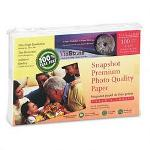 Tier 1 International Premium High Gloss Photo Paper, 4 x 6, 10.4 mil, White, 100 Sheets/Pack