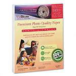 Tier 1 International Premium High Gloss Photo Paper, 8 1/2 x 11, 10.4 mil, White, 100 Sheets/Pack