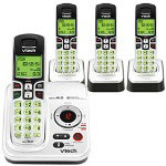 Vtech 6229-4 Expandable Four Handset Cordless Phone System with Digital Answering Device