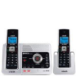 Vtech LS6125-2 DECT 6.0 Two Handset Cordless Answering System with Caller ID