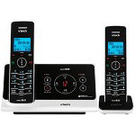 Vtech 6225-2 Slim Expandable Two Handset Cordless Phone System with Digital Answering Device