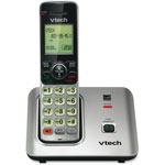 Vtech Cordless Phone, 1.9 GHz, LED Screen, Black/Silver