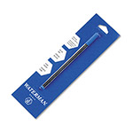 Waterman Rollerball Pen Refill, Fine, Blue Ink