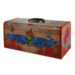 "Waterloo 20"" Custom Graphic Wrapped Metal Handbox"