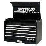 "Waterloo 36"" Magnum 5 Drawer Tool Chest - Black"