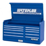 "Waterloo 46"" Magnum 10 Drawer Tool Chest - Blue"