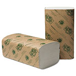 Wausau Papers EcoSoft Singlefold Towels, Natural White, 250 Towels/Pack, 16 Packs/Carton