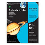 "WaUSAu Papers Astrobrights® Paper, 24Lb, 8-1/2""x11"", 500/RM, Lunar Blue"