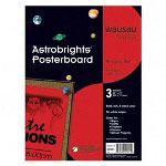 Wausau Papers Premium Poster Board, 22x28, Re Entry Red™, 24 Per Carton