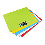 WaUSAu Papers Astrobrights® Premium Poster Board, 22 x 28, Assorted Colors, 50 Per Carton