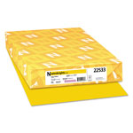 Neenah Paper Astrobrights Colored Paper, 24lb, 11 x 17, Solar Yellow, 500 Sheets/Ream