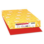 Neenah Paper Astrobrights Colored Paper, 24lb, 11 x 17, Re-Entry Red, 500 Sheets/Ream