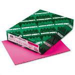 Wausau Papers Colored Paper, 8-1/2 x 11, 24 lb., Pulsar Pink , 500 Sheets/Ream