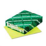 Wausau Papers Colored Paper, 8-1/2x11, 24 lb., Lift Off Lemon , 500 Sheets/Ream