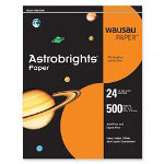 "WaUSAu Papers Astrobrights® Paper, 24Lb, 8 1/2""x11"", 500/Pack, Cosmic Orange"