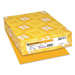 Neenah Paper Exact Brights Paper, 8 1/2 x 11, Bright Gold, 50 lb, 500 Sheets/Ream