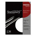 "Wausau Papers Recycled Paper, 8 1/2"" x 11"", 92 GE Brightness, 24 lb."