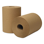 Wausau Papers EcoSoft Universal Roll Towels, 8 x 350ft, Natural