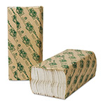 Wausau Papers EcoSoft Folded Towels, 10 1/8 x 13, White, 150/Pack