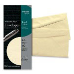 Wausau Papers Recycled Paper,#10 Envelopes, 24 lb., Ivory