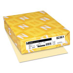 Neenah Paper Exact Vellum Bristol Cover Stock, 67 lbs., 8-1/2 x 11, Ivory, 250 Sheets