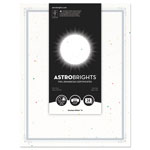 "Astrobrights Foil Enhanced Certificates, 8 1/2"" x 11"", Stardust White, 25/Pk"