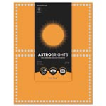 Astrobrights Foil Enhanced Certificates, 8.5 x 11, Cosmic Orange/Silver Foil, 2/Sheet,15Sh/Pk